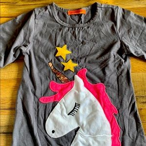 Funky berry unicorn dress